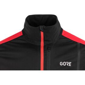 GORE WEAR C3 Gore Windstopper Jacket Herre black/red